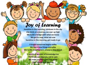 Joy of Learning Song